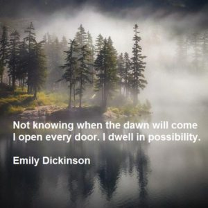 Alpine Lakes Wilderness by Scott Kranz Emily Dickinson quote